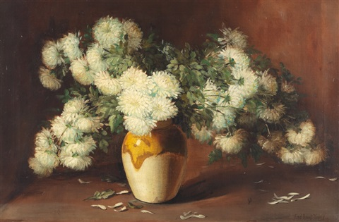 chrysanthemums by frederick grant young