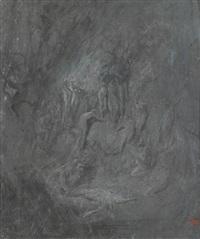 la mort d'orphée by gustave doré