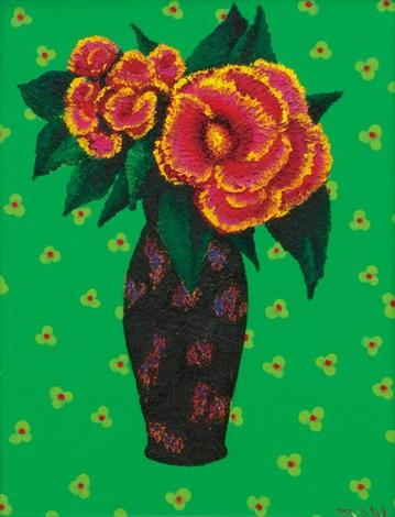 flower by ahn chang hong