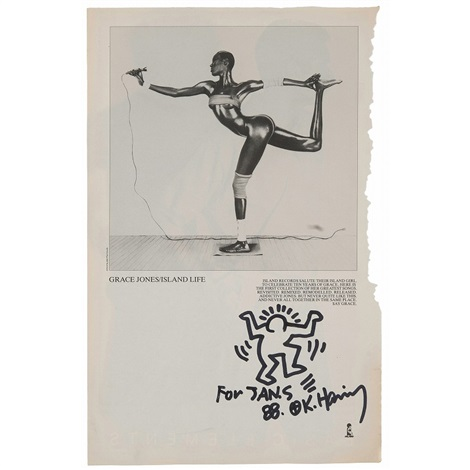 work by keith haring