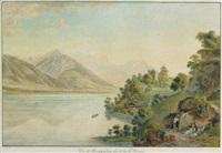 vue du ringgenberg sur le lac de brienz by simon daniel lafond