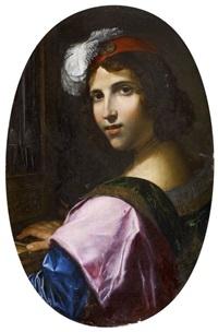 jeune musicien à l'orgue by pietro paolini