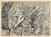 merry-go-round by reginald marsh