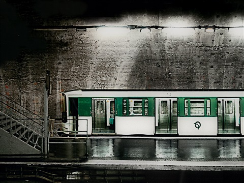 Porte de Montreuil, Line 9 by Larry Yust on artnet