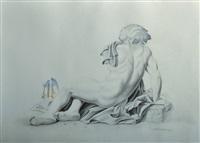 desnudo de espalda by vito campanella