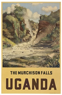uganda/the murchison falls by r. mcllelan sim