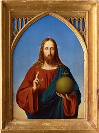 christ by johan peter von götting