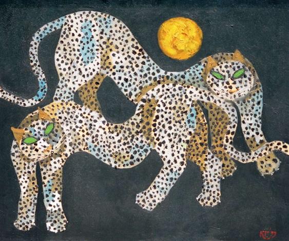 leopard by popo iskandar
