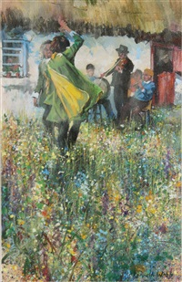 the rehearsal - dancing at lughnasa by kenneth webb