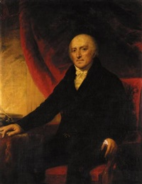 portrait of hugh mckeen, of lochanwoods, dunfriesshire by colvin smith