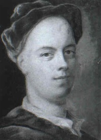 portrait of a gentleman, possibly john gay by william aikman