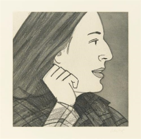 light as air portfolio of 12 by alex katz