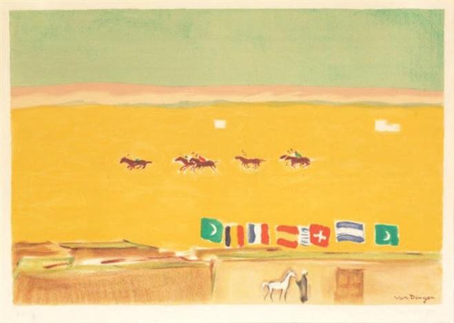 le polo à alexandrie by kees van dongen