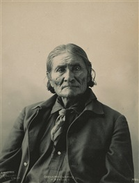 portraits of native americans (15 works) by frank a. rinehart