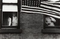 parade- hoboken, new jersey by robert frank