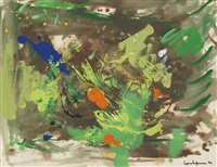swamp elegy by hans hofmann