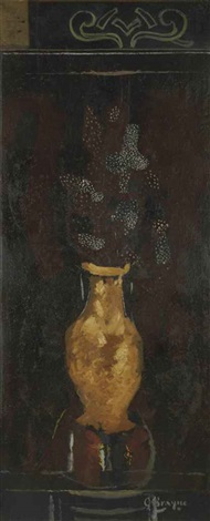 le grand vase by georges braque