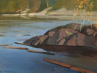 backwater on the gatineau by frank charles hennessey