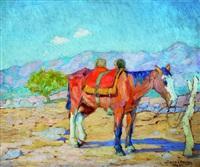 caballo en las sierras by luis tessandori