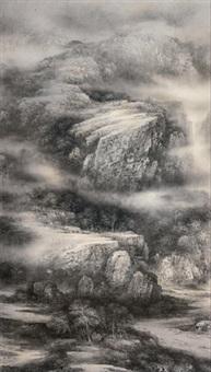 山峦叠翠 by xu changjiang