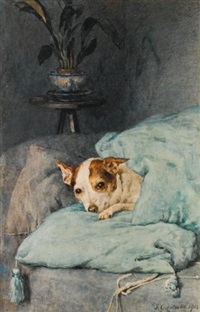 tucked up by frederick george cotman