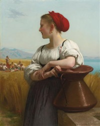 moissonneuse by william adolphe bouguereau