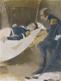 the death of wilhelm von schwerin by helene sofia schjerfbeck