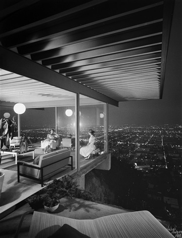 pierre koenig case study house 22 los angeles ca by julius shulman