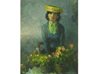 flower girl by alfred ackrill