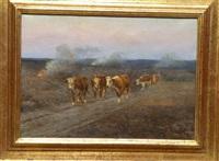 le retour du troupeau by maurice l.p.j. lessertisseux