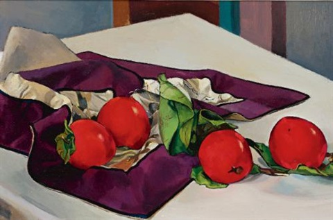 persimmons by stanton macdonald wright