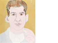 portrait of a young man by beauford delaney