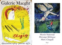 chagall (set of 2) by marc chagall