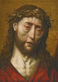 christ crowned with thorns by aelbrecht bouts