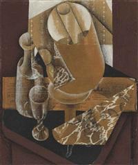 la lampe by juan gris