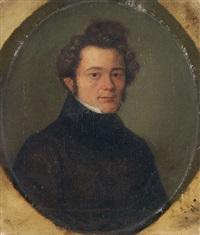 porträt eines jungen mannes by joseph günther