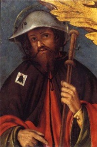 saint roch by bernardino lanino