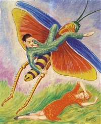 gräshoppan (the grasshopper) by nils von dardel