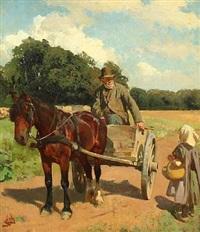 et møde med bedstefader (an encounter with grandfather) by erik ludwig henningsen