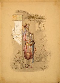 jeune orientale by emmanuel joseph lauret