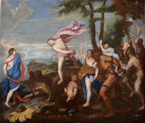 bacchus et ariane by titian tiziano vecelli