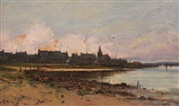 largs - ayrshire coast by george w. aikman