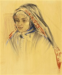 the yemenite girl by anna ticho