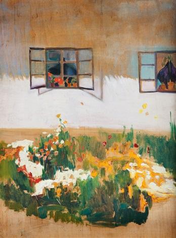 ogródek przed domem by michalina krzyzanowska