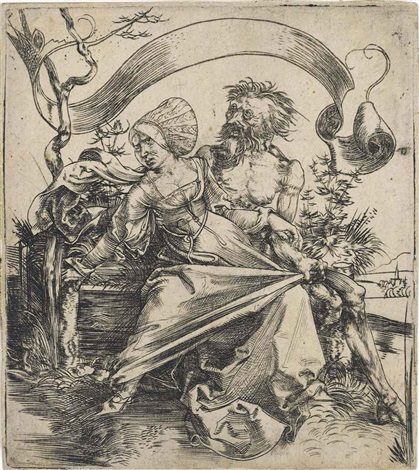 the ravisher by albrecht dürer