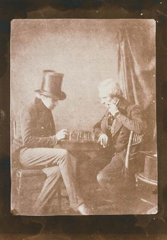 the chess players by william henry fox talbot