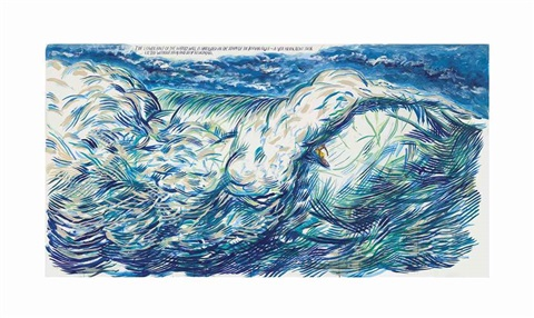 no title the lower half by raymond pettibon