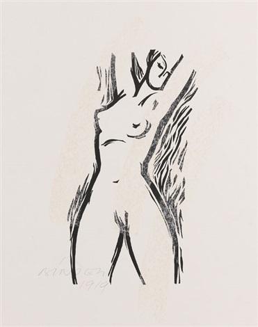 weiblicher akt by joseph friedrich gustav binder