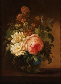 floral still life by cornelis van spaendonck