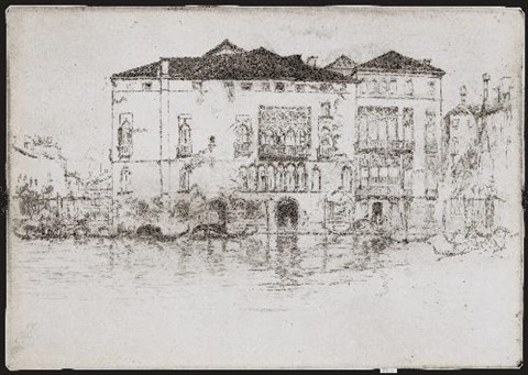 the palaces pl9 from twelve etchings by james abbott mcneill whistler